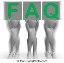 soutien, faq, plaquettes, assistance, fréquent, spectacles
