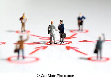 soutien, gestion réseau, business
