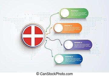 souverain, conception, militaire, malte, infographic, isolé, point, carte, mondiale, drapeau, ordre