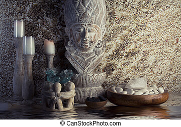 spa., pierre, masage