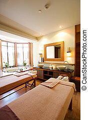 spa, salle, thaïlande