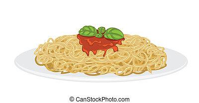 spaghetti, délicieux