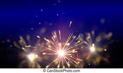 sparklers, boucle