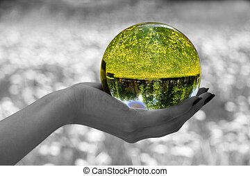 sphère, 2, magie