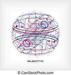 sphère, circuit