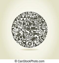 sphère, industrie
