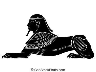 sphinx, -, créature mythique