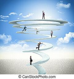 spirale, business