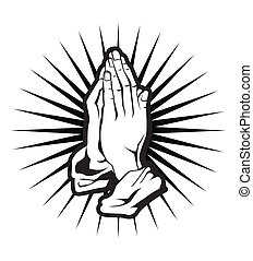 spiritualité, main