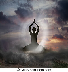 spiritualité, yoga
