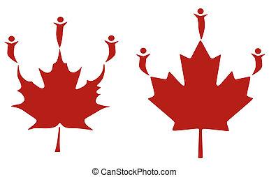 spirt, participation, canadien