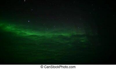 spitsbergen, lumières septentrionales