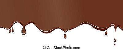 splodge, chocolat
