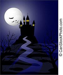 spooky, maison