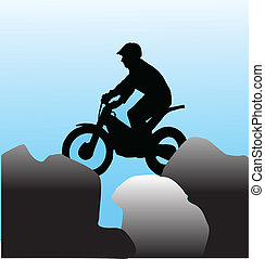 sport extrême, moto