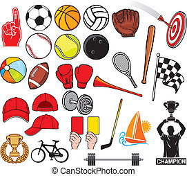 sports, grand, collection