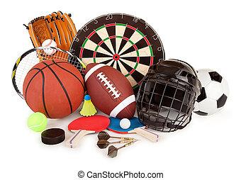 sports, jeux, arrangement