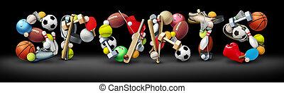sports, texte