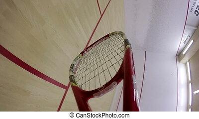squash., jouer