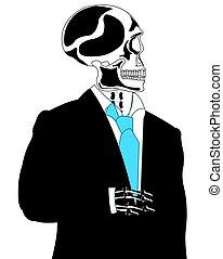 squelette, complet