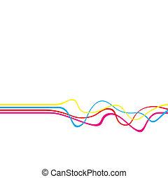squiggle, lignes