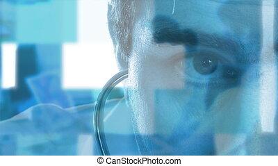 stéthoscope, docteur