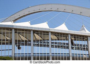 stade, construction, mabhida, architecture, moïse, grand plan