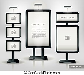 stand, exposition, display., commercer