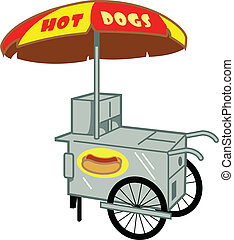 stand hot dog