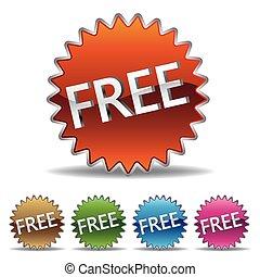 starburst, gratuite, étiquette