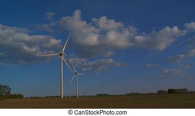 station, énergie éolienne