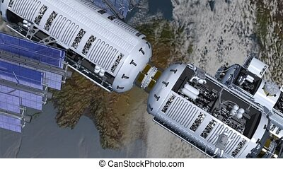 station spatiale, astronautes