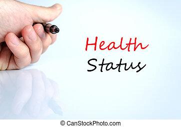 statut, concept, santé