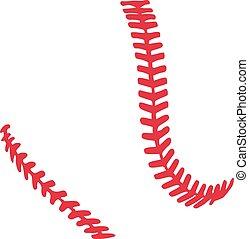 stiches, base-ball