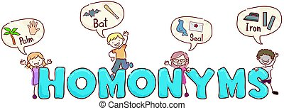 stickman, gosses, homonyms
