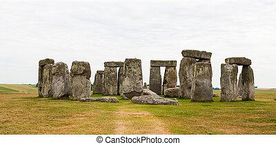 stonehenge, salisbury, plaines, angleterre