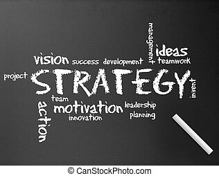 stratégie, tableau, -