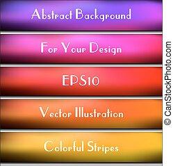 strips., résumé, text., rectangulaire, arrière-plan., endroit, ton