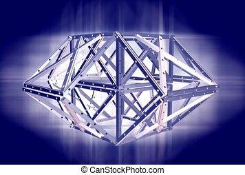 structure métal