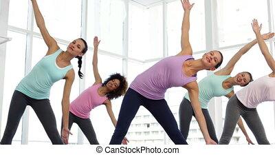 studio, yoga, classe aptitude