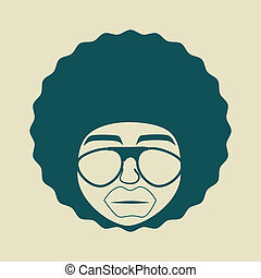 style, afro, conception