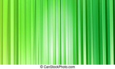 style, fait boucle, 4k., résumé, moderne, seamless, poly, arrière-plan., animation, vert, colors., surface, 2, gradient, 3d, curtains., bas