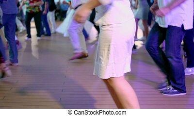 style, femme, gens, beaucoup, danses, américain, latin, autre