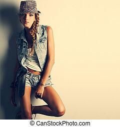 style, girl, mode, beau, photo