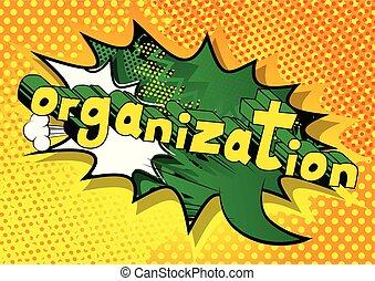style, -, livre, phrase., organisation, comique