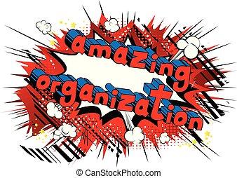 style, -, surprenant, livre, phrase., organisation, comique