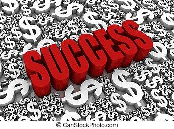succès financier