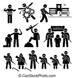 suicide, terrorisme, bombardier, terroriste