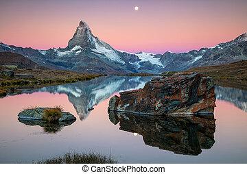 suisse, matterhorn, alps.