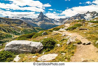 suisse, zermatt, matterhorn, alpes